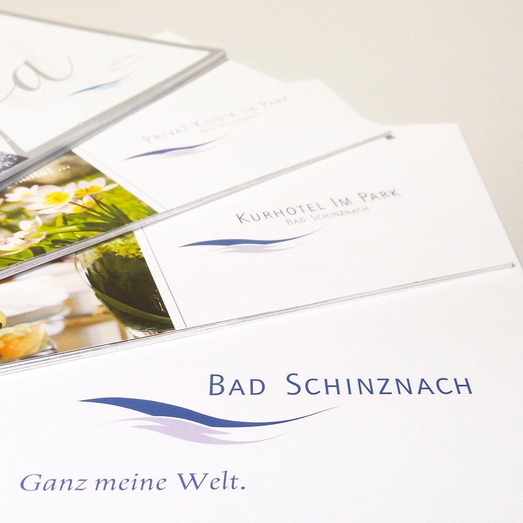 Bad Schinznach Markenstrategie Logo Kollage