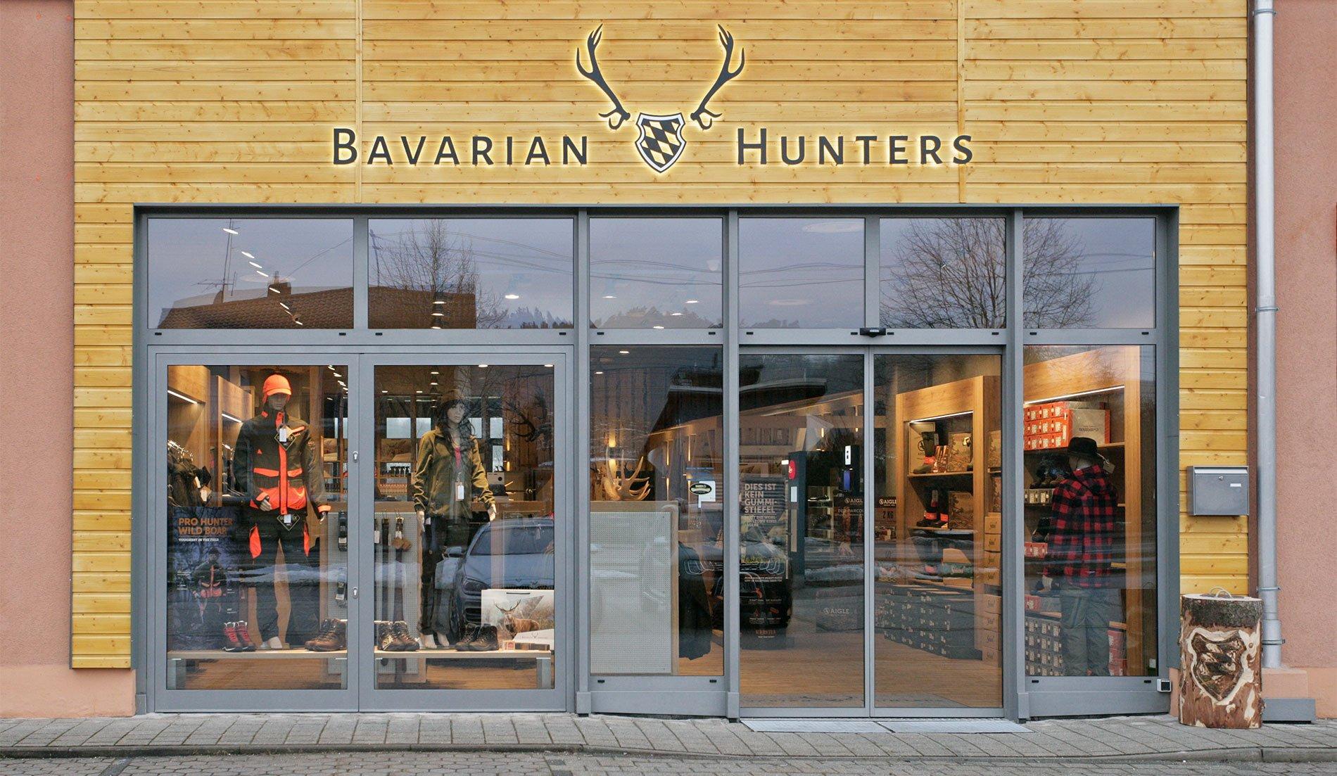 Bavarian Hunters Shop Fassade